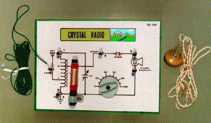 Crystal Radio With Loop Antenna